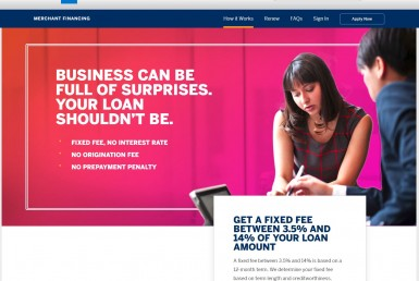 American Express Merchant Financing