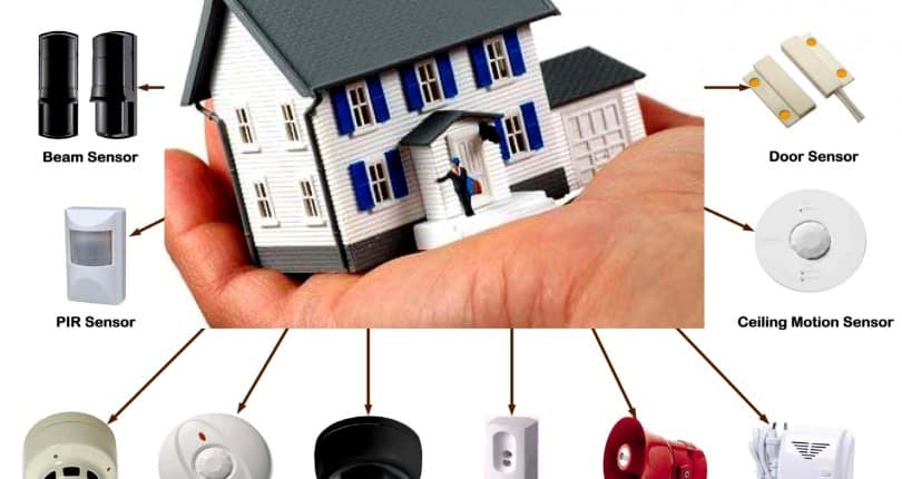 tips for building your home security system the cal agents - Home Security Systems