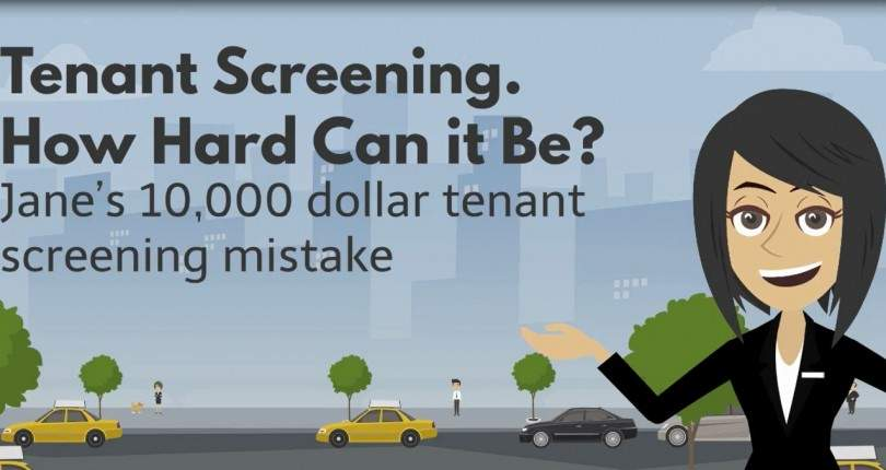 The 10,000 Dollar Tenant Screening Mistake