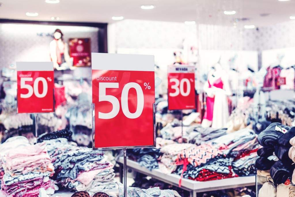 shopping discounts during black friday