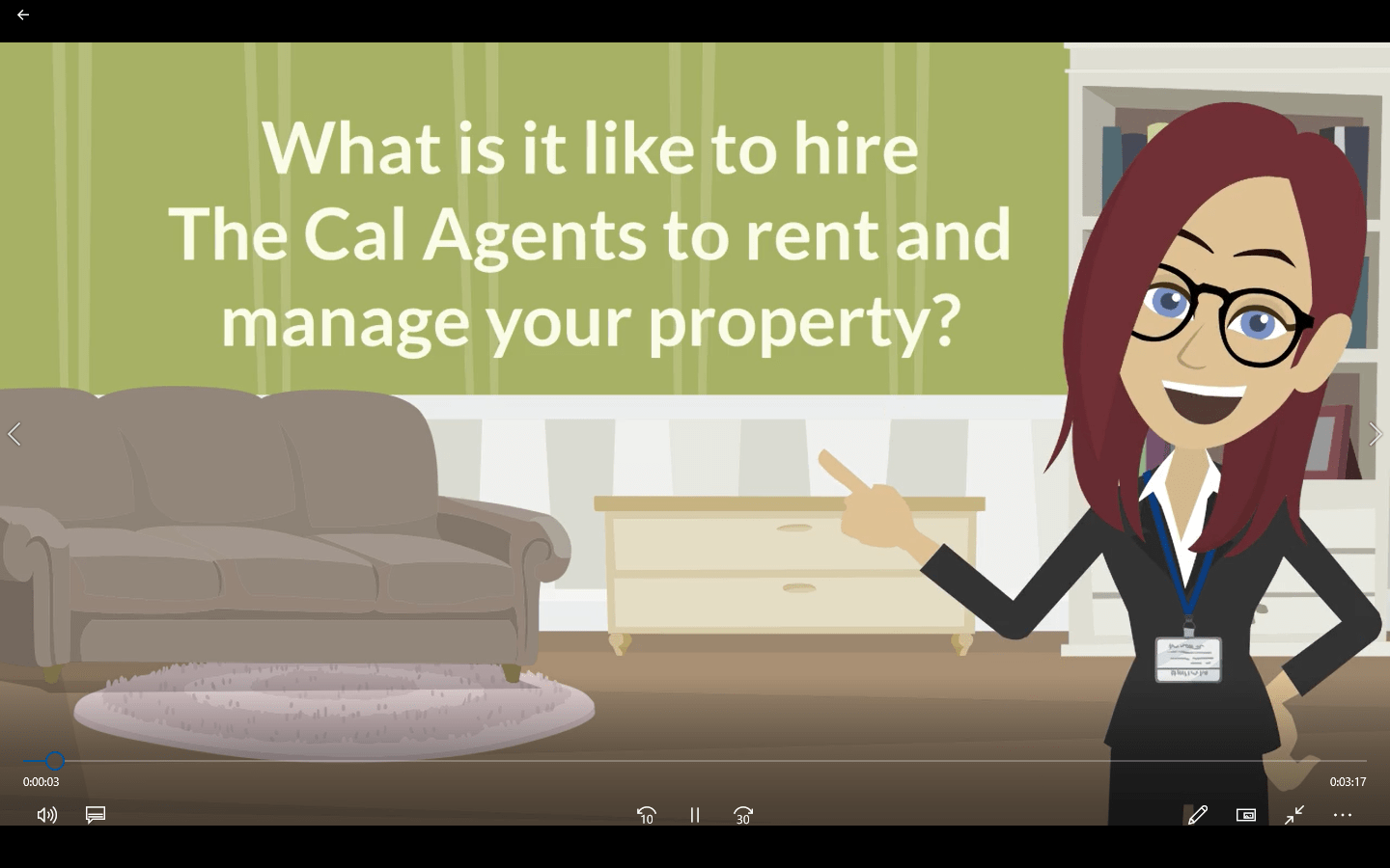 What is it like to hire The Cal Agents to rent and manage your property?